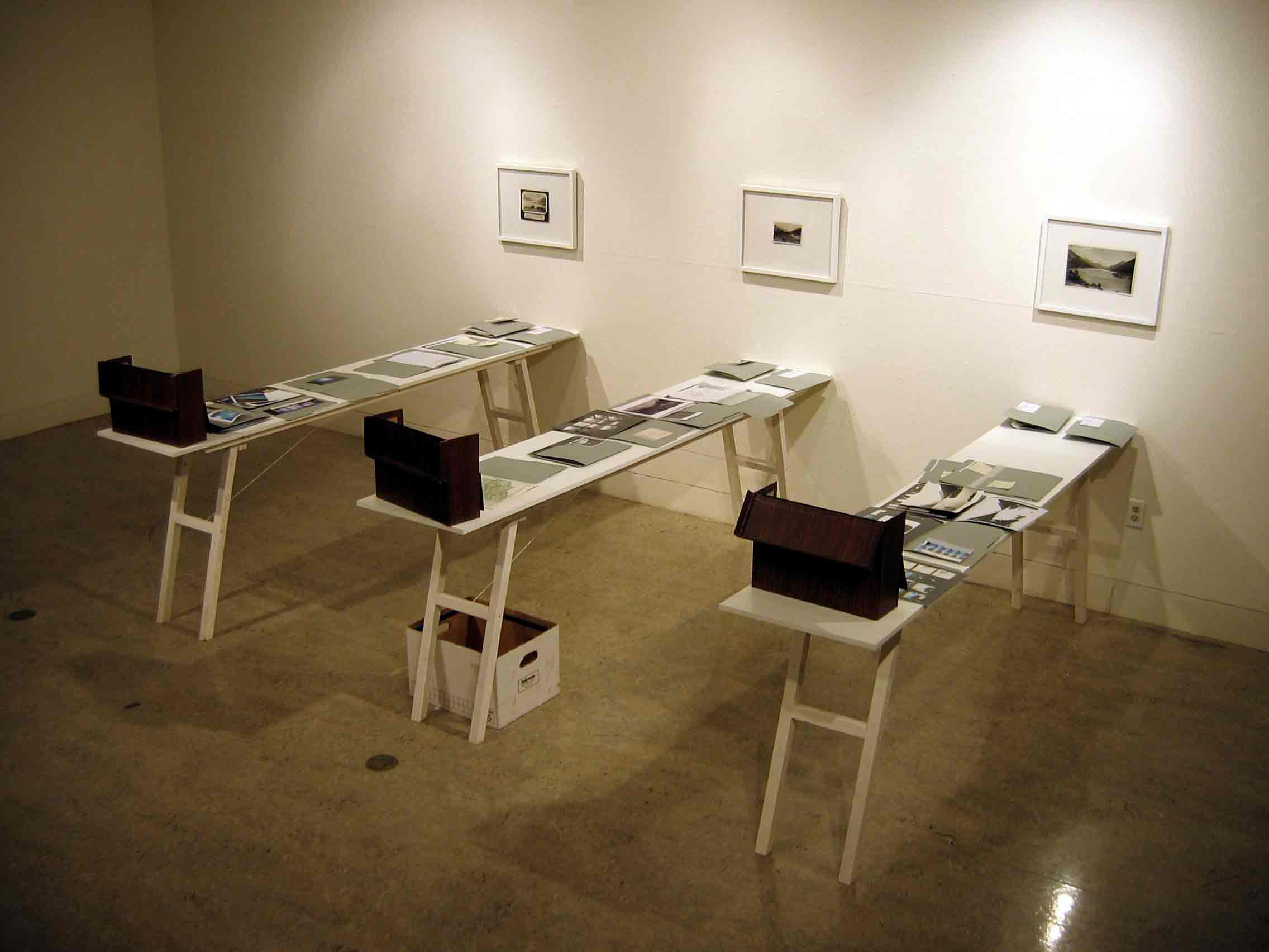 Finding Aid, 2007, UVic Gallery