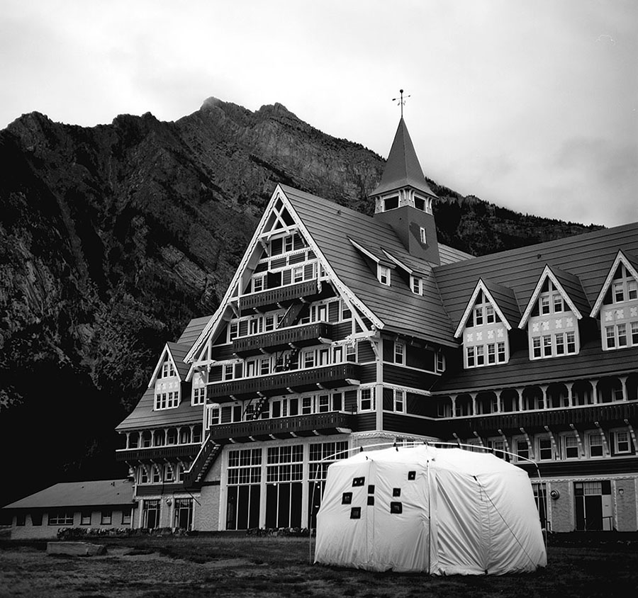 Picture showing Camera Obscura at Waterton Lakes National Parks, Alberta